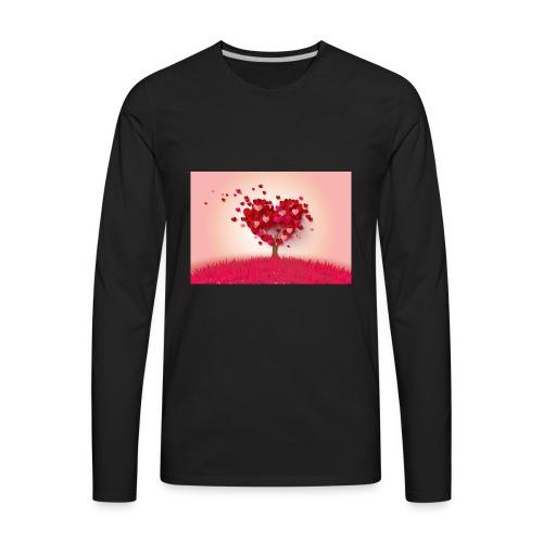 Heart Love Tree - Men's Premium Long Sleeve T-Shirt