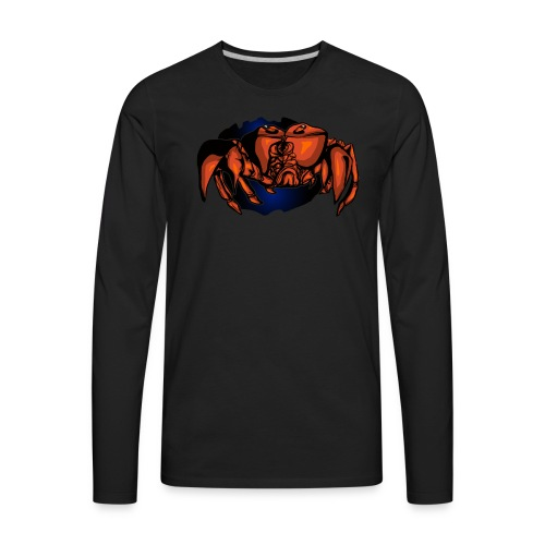 Crab - Men's Premium Long Sleeve T-Shirt