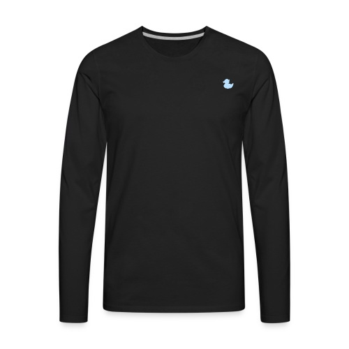 DuckyBlue - Men's Premium Long Sleeve T-Shirt