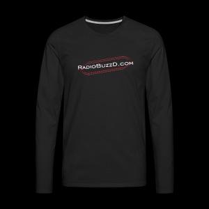RadioBuzzD Shop Online Radio Station - Men's Premium Long Sleeve T-Shirt