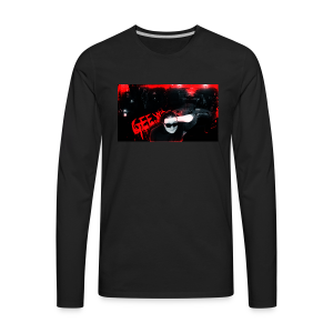 Old Channel Art - Men's Premium Long Sleeve T-Shirt