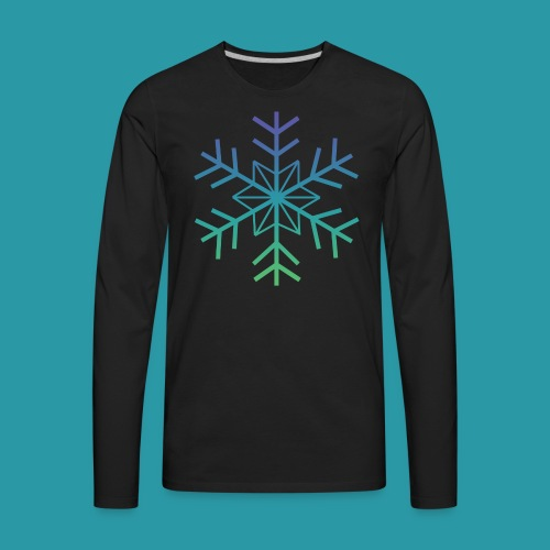 Snowflake 2.0 - Men's Premium Long Sleeve T-Shirt