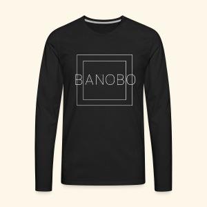 Banobo Logo - Men's Premium Long Sleeve T-Shirt