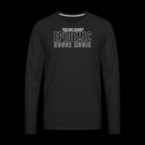35whiteoutline - Men's Premium Long Sleeve T-Shirt