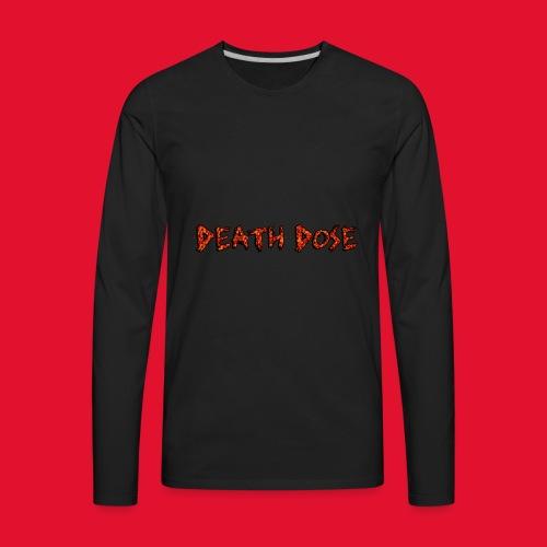 Death Dose - Men's Premium Long Sleeve T-Shirt