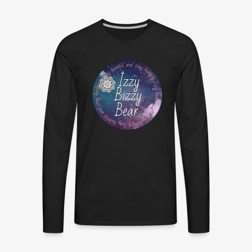 Izzy bizzy bear merch! - Men's Premium Long Sleeve T-Shirt