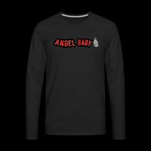 AngelBabyMusic Logo - Men's Premium Long Sleeve T-Shirt