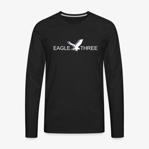 EAGLE THREE APPAREL - Men's Premium Long Sleeve T-Shirt