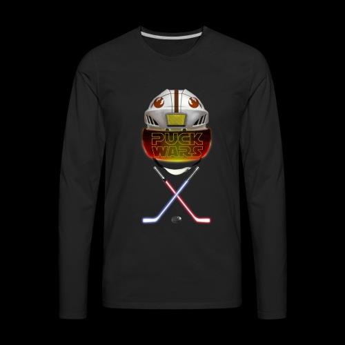 Puck Wars - Rebel - Men's Premium Long Sleeve T-Shirt