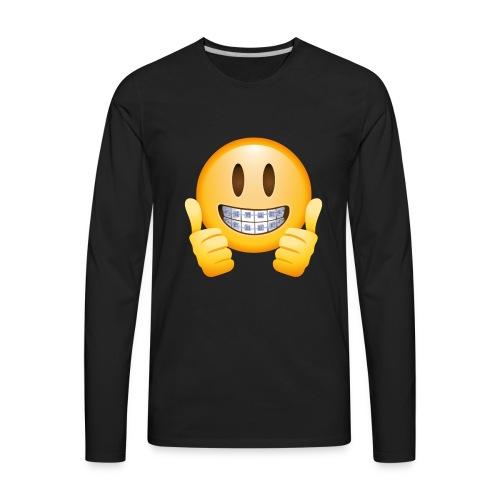 Brace face - Men's Premium Long Sleeve T-Shirt