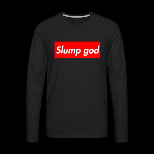 supreme god - Men's Premium Long Sleeve T-Shirt