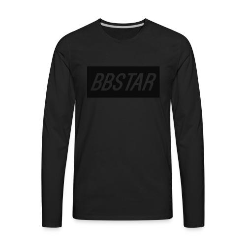bbstarlogo - Men's Premium Long Sleeve T-Shirt