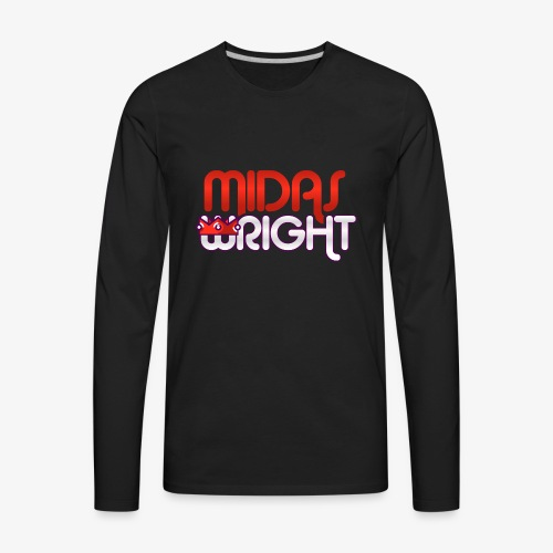 Midas Wright Official Logo - Men's Premium Long Sleeve T-Shirt