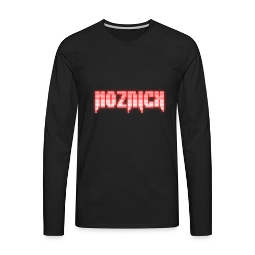TEXT MOZNICK - Men's Premium Long Sleeve T-Shirt