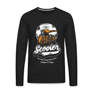 scooter - Men's Premium Long Sleeve T-Shirt
