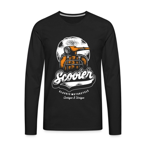 scooter - Men's Premium Long Sleeve T-Shirt