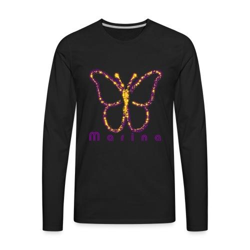 pixie dust butterflly - Men's Premium Long Sleeve T-Shirt