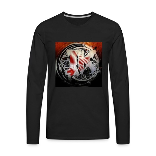 Insane Killa Logo Design - Men's Premium Long Sleeve T-Shirt