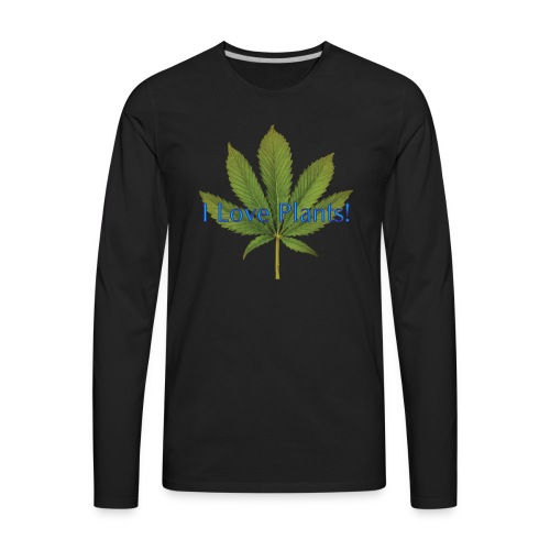 I Love Plants - Men's Premium Long Sleeve T-Shirt
