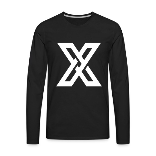 Project X logo - Men's Premium Long Sleeve T-Shirt