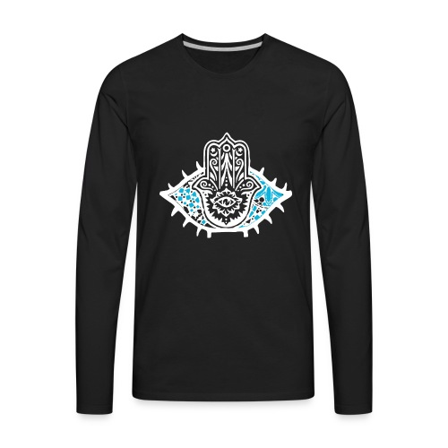 Masonic Eye - Men's Premium Long Sleeve T-Shirt