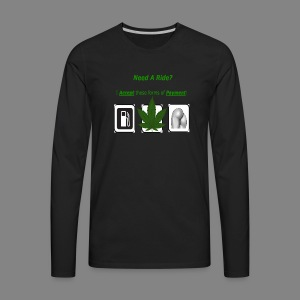 need a ride - Men's Premium Long Sleeve T-Shirt