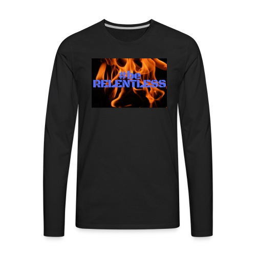 relentless blue - Men's Premium Long Sleeve T-Shirt