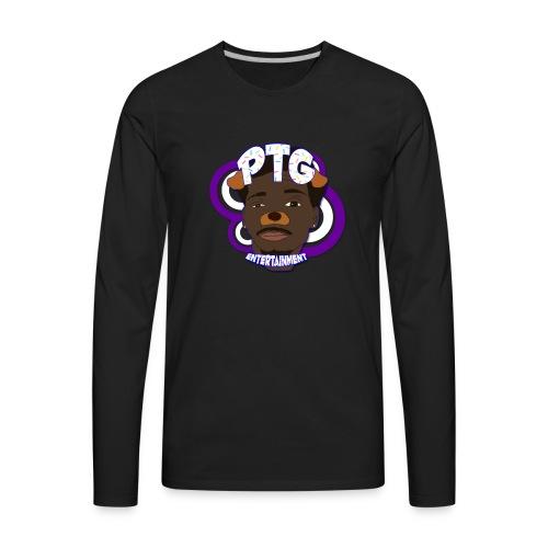 PTG Entertainment Logo - Men's Premium Long Sleeve T-Shirt