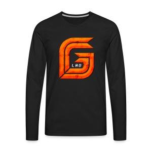 GG_Lad Logo - Men's Premium Long Sleeve T-Shirt