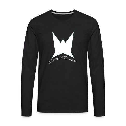 Arrival Reserve logo - Men's Premium Long Sleeve T-Shirt