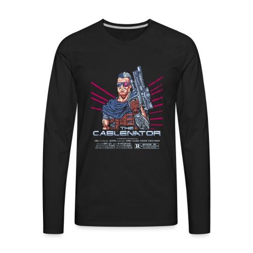 The Cablenator - Men's Premium Long Sleeve T-Shirt