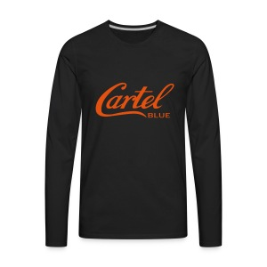 Cartel Blue Graphics - Men's Premium Long Sleeve T-Shirt