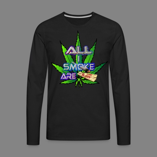 allismokearepapers - Men's Premium Long Sleeve T-Shirt