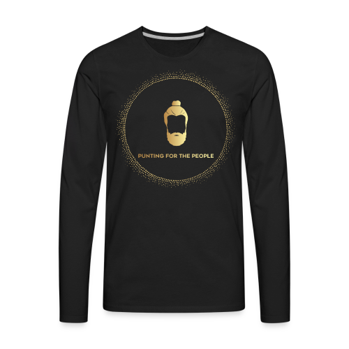 Punting For The People Print - Men's Premium Long Sleeve T-Shirt