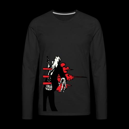 Who Shot the Groom? - Men's Premium Long Sleeve T-Shirt