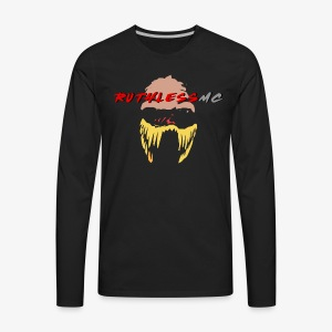 ruthless mc color logo t shirt - Men's Premium Long Sleeve T-Shirt