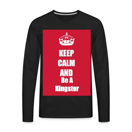 Kingjerry Merch - Men's Premium Long Sleeve T-Shirt