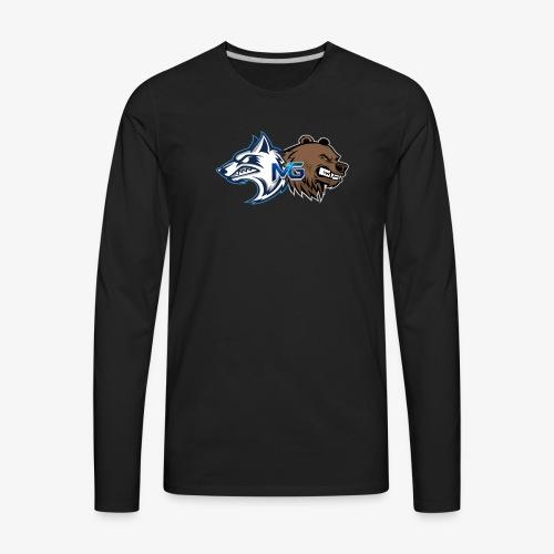 More Gaming LOGO - Men's Premium Long Sleeve T-Shirt