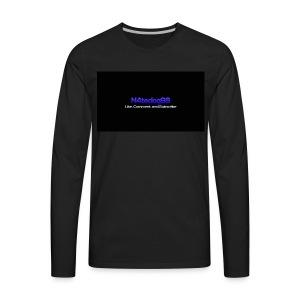 N4tedog96's Logo - Men's Premium Long Sleeve T-Shirt