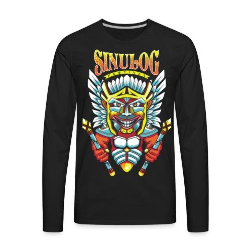 Sinulog Shirt souvenir from Cebu, Philippines - Men's Premium Long Sleeve T-Shirt