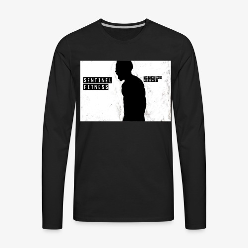 Sentinel Fitness Logo Apparel - Men's Premium Long Sleeve T-Shirt