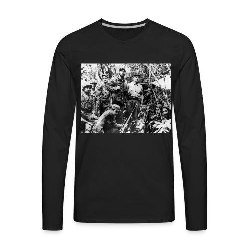 Viva Fidel ~ Soldier - Men's Premium Long Sleeve T-Shirt