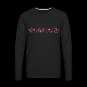 VR PINK - Men's Premium Long Sleeve T-Shirt
