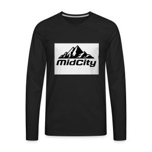 MidCity Apparel - Men's Premium Long Sleeve T-Shirt