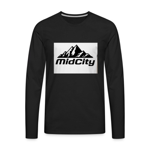 MidCity Apparel - Men's Premium Long Sleeve T-Shirt