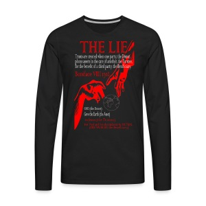 THE LIE OF ALL TIME! - Men's Premium Long Sleeve T-Shirt