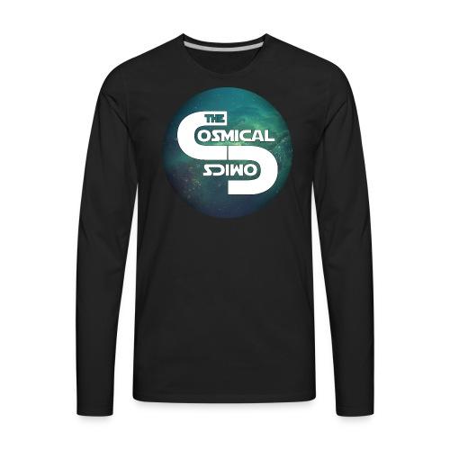 TheCosmicalComics logo - Men's Premium Long Sleeve T-Shirt