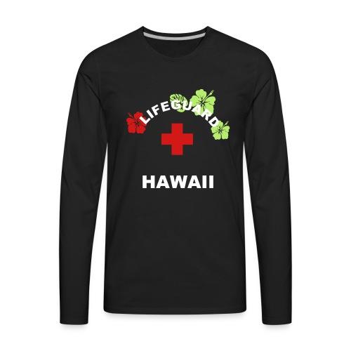 LIFEGUARD Hawaii - Men's Premium Long Sleeve T-Shirt