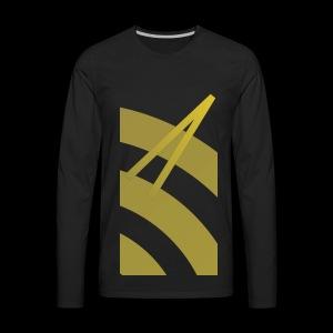 Rising Break The Cycle Gold - Men's Premium Long Sleeve T-Shirt