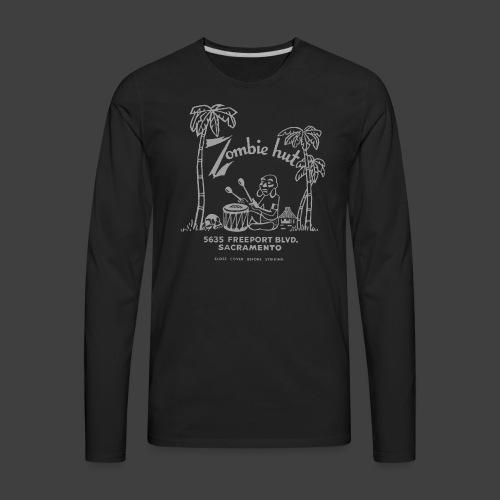 ZOMBIE HUT - Sacramento - Men's Premium Long Sleeve T-Shirt